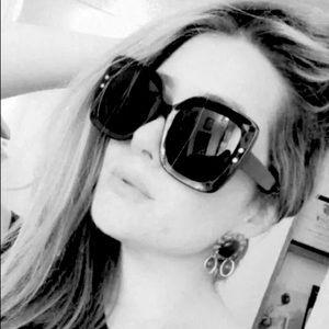 🎀Large 100% UV Protection Sunglasses 🕶 Black